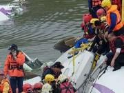 Tin tức - Cận cảnh công tác cứu hộ máy bay Đài Loan rơi