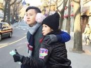Làng sao - Ngô Kiến Huy tình cảm với Khổng Tú Quỳnh ở Hàn Quốc