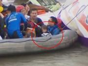 Làm mẹ - Bé 2 tuổi sống sót thần kỳ trong vụ máy bay Đài Loan rơi