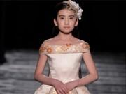 Thời trang - Mẫu nhí 9 tuổi tỏa sáng tại Tuần lễ thời trang Paris