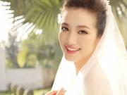Làng sao - Trúc Diễm đẹp tinh khôi trong bộ ảnh cưới mới