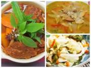 Bếp Eva - Ấm áp bữa cơm chiều với bò kho, canh khế