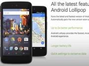 Eva Sành điệu - Smartphone giá rẻ của Google cài sẵn Android 5.1