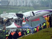 Máy bay Đài Loan hỏng cả 2 động cơ trước khi rơi