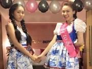 Ngân Khánh hóa công chúa trong tiệc chia tay đời độc thân