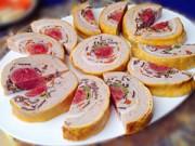 Bếp Eva - Cùng gói giò hoa làm quà biếu Tết