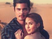 Làng sao - Vợ chồng mỹ nhân đẹp nhất Philippines lãng mạn bên nhau