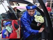 Làng sao - Ông xã Việt kiều rước cô dâu Trúc Diễm bằng siêu xe bạc tỷ