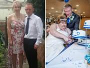 Tình yêu - Giới tính - Hình ảnh đau lòng của cô dâu bị ung thư