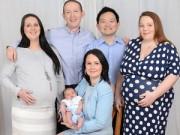 Bà bầu - Chuyện sinh 3 con kỳ lạ của cặp đồng tính nam