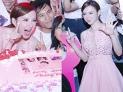 Làng sao - Fan vây kín trong sinh nhật nửa đêm của Angela Phương Trinh