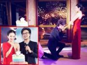 Làng sao - 36 tuổi, Chương Tử Di bật khóc khi được cầu hôn