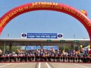 Tin tức - Thủ tướng phát lệnh thông xe cao tốc hiện đại nhất VN