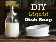 Nhà đẹp - Tự làm nước rửa chén tại nhà bằng muối, giấm, chanh
