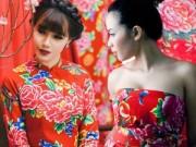 Thời trang - Chăn con công thành mốt thời trang hút khách
