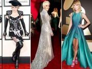 Katy Perry diện váy xuyên thấu trên thảm đỏ Grammy