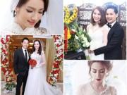 Làng sao - Điểm giống nhau bất ngờ của 2 cô dâu Ngân Khánh, Trúc Diễm