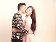 Làng sao - Fan bực bội khi Tiến Dũng đăng ảnh hôn Hương Tràm