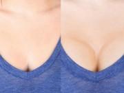 Thời trang - Nghệ thuật nâng ngực bằng... phấn trang điểm