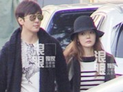 Làng sao - Rộ tin đồn Chae Rim và Cao Tử Kỳ đi khám thai