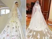 Thời trang - Váy cưới Ngân Khánh mượn ý tưởng từ Angelina Jolie?