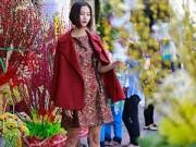 Thời trang - Con gái Sài Gòn váy hoa rộn rã du xuân