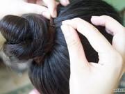 3 kiểu tóc điệu chơi Tết cho bé tóc lỡ ngang vai