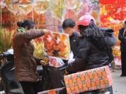 Tin tức - Hà Nội mưa rét trong ngày Tết ông Công ông Táo