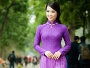 Hậu trường - Á khôi Lưu Ly nữ tính khoe dáng xuân nồng