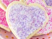 Bánh quy trái tim cho Ngày lễ tình yêu