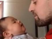 Clip Eva - Em bé và bố song ca lần đầu trong đời