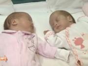 Làm mẹ - Cặp sinh đôi chào đời cách nhau 2 tháng do mẹ hết cơn co