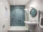 Nhà đẹp - 9 ý tưởng lớn tối ưu hóa không gian phòng tắm hẹp