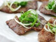Bếp nhà tôi  - Thịt bò tẩm bột chiên nóng hổi
