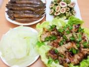 Bếp Eva - Bữa cơm chiều hấp dẫn với cá kho, thịt nướng