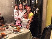 Làng sao - Gia đình Hồng Ngọc đón Valentine ấm áp trên đất Mỹ