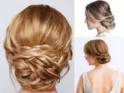 Làm đẹp - Hướng dẫn tạo các kiểu tóc tết búi đẹp cho bạn gái