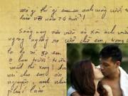 Làng sao - Đan Lê tiết lộ bức thư tình 16 năm trước của Khải Anh