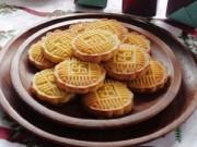 Bếp Eva - Bánh đậu xanh nướng giòn thơm đón nắng xuân