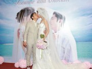 """Làng sao - Hôn lễ trong mơ của cặp đôi """"đũa lệch"""" TVB"""