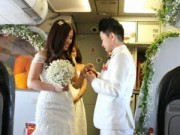 Tình yêu - Giới tính - Đám cưới lãng mạn của cặp đồng tính nữ Việt trên máy bay