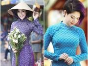 Làng sao - Thanh Mai, Thanh Thảo diện áo dài xuống phố ngày Tết