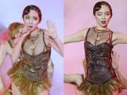 Làng sao - Tóc Tiên gặp sự cố trang phục nhạy cảm trên sân khấu