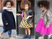 """Thời trang - Người lớn """"ngả mũ"""" trước thời trang của cô bé 3 tuổi"""