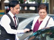 Làng sao - Ngọc Sơn đưa mẹ đi chùa ngày cuối năm
