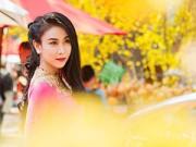 Xem & Đọc - Hà Minh Ngọc đẹp rực rỡ ngày đầu năm