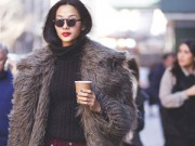 Thời trang - Hoàng Thùy lọt top 28 street style ấn tượng tại Jeremy Scott