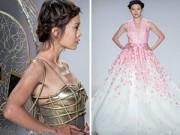 Thời trang - Mẫu Việt cuốn hút trong BST của Lý Qúi Khánh ở New York