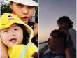 Làng sao - HH Hương Giang cùng chồng con đi du lịch Campuchia