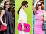 Thời trang - Thời trang du xuân rực rỡ của sao Việt